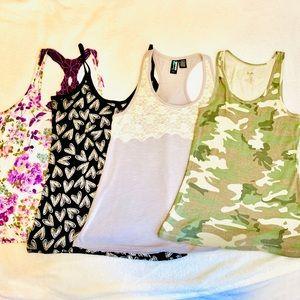 Tops - SALE: XL juniors women's tank top lot bundle